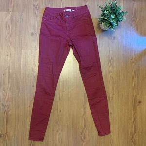 Blue Spice - Womens High Rise Skinny Fit Pants